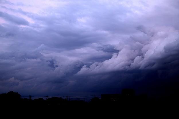 夕方の雲風景1