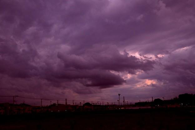 夕方の雲風景2