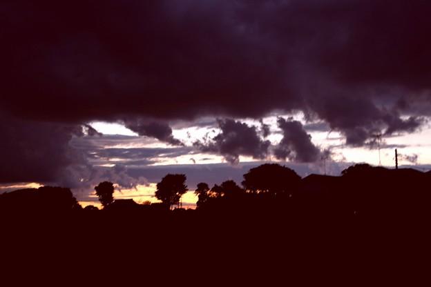 夕方の空風景3