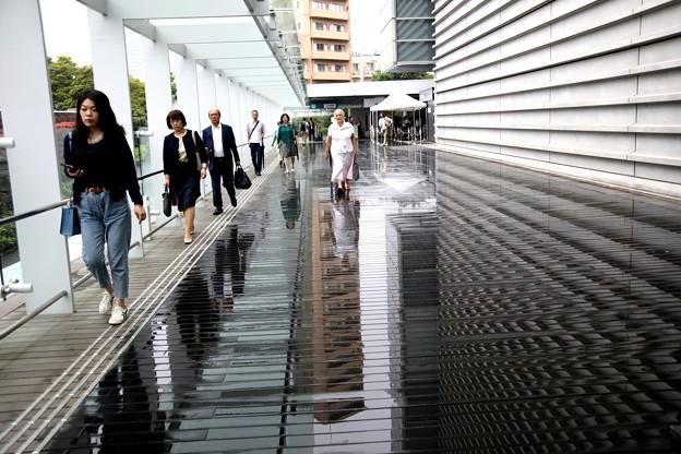 雨の日の国立新美術館風景2