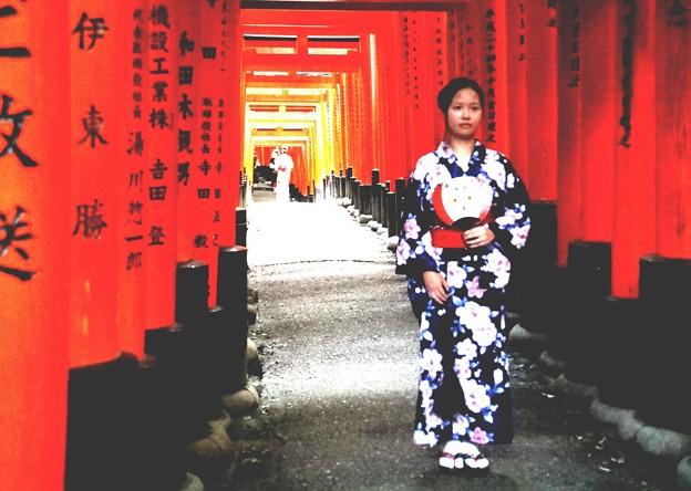 京都は和服が似合う (1)