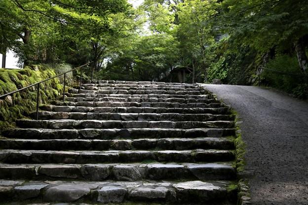 三千院の階段