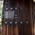 実相院の扉