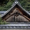 実相院の屋根