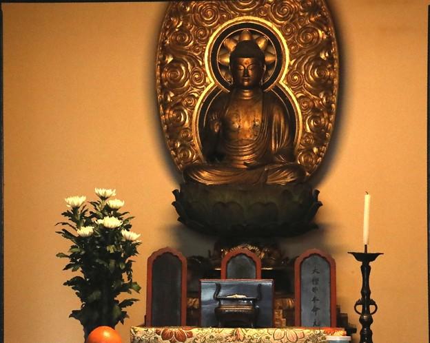 龍源院の方丈の仏像