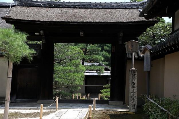 龍源院寺境内の寺院風景