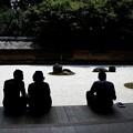龍安寺の石庭風景
