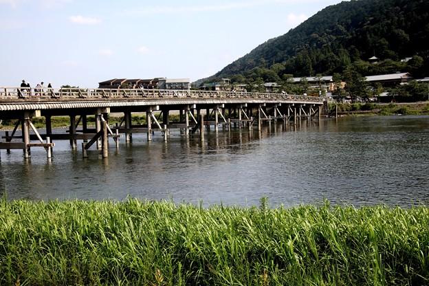 渡月橋風景