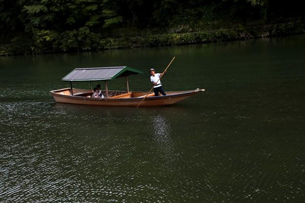 保津川 舟の運行