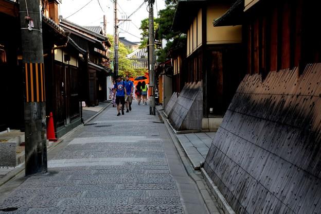 京都の東山街並み