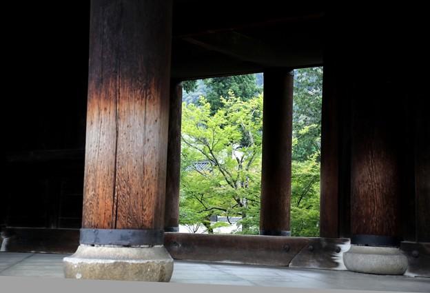 南禅寺 三門よりの風景3