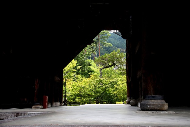 南禅寺 三門よりの風景4