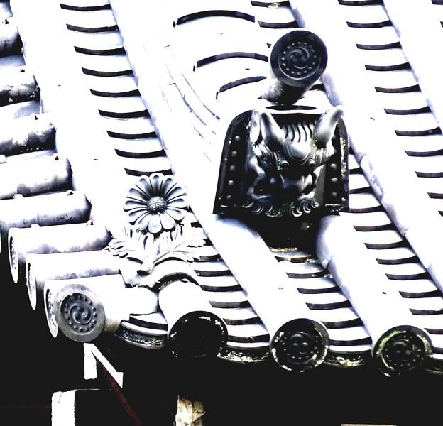 南禅寺の鬼瓦
