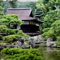 Photos: 銀閣寺錦鏡池より東求堂風景