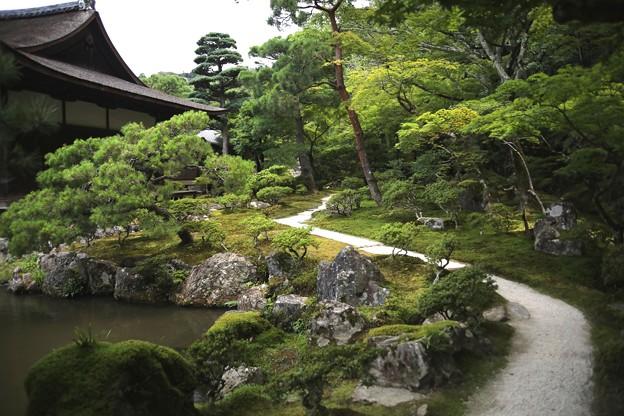 銀閣寺境内風景1
