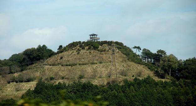 小山の上の展望台