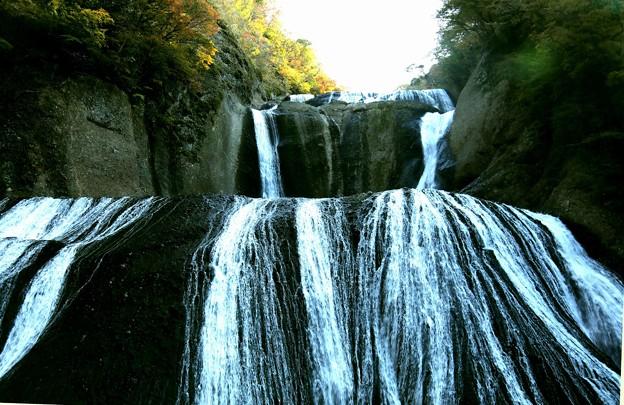 滝の流れ(袋田の滝)