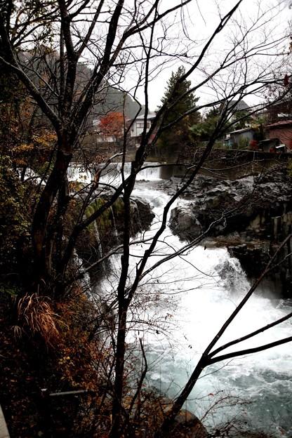 降雨の田原の滝2