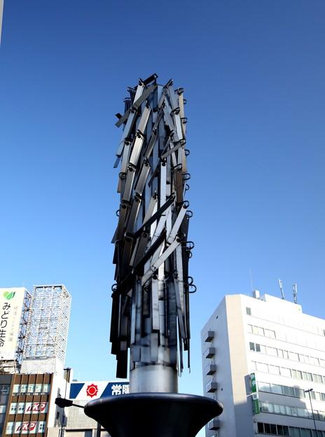 上野駅 オブジェ