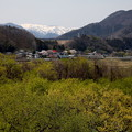 Photos: 月夜野大橋より三国山脈風景