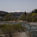 Photos: 川と谷川岳風景