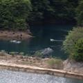 Photos: 奥四万湖の監視委員のボート風景