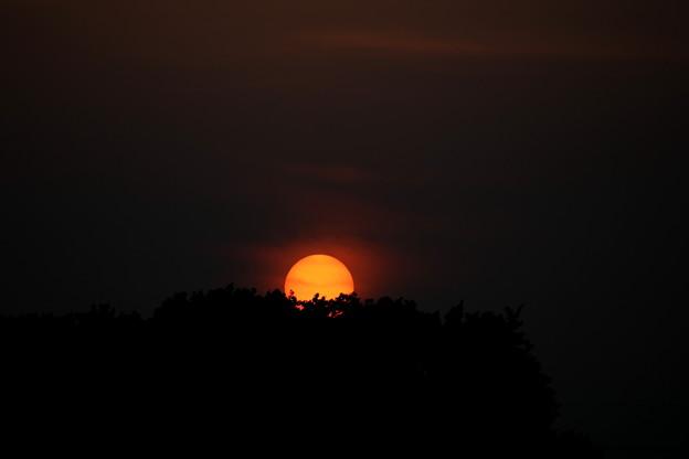 沈みゆく太陽