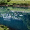 Photos: 四万湖の反映