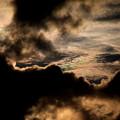 Photos: 夕方の雲 彩雲2