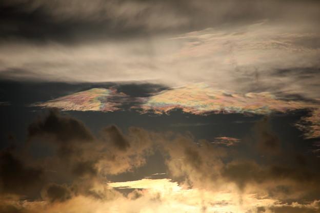 夕方雲 彩雲6