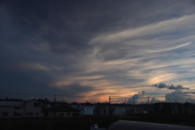 夕方の空(20200911)