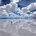 Photos: 天空の鏡。ウユニ塩原(ボリビア)標高3700