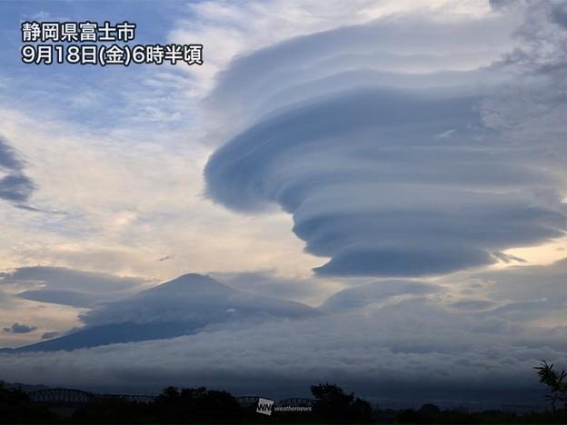 Photos: つるし雲(202009818)ネット画像