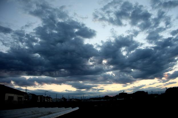 夕方の雲(20200928)