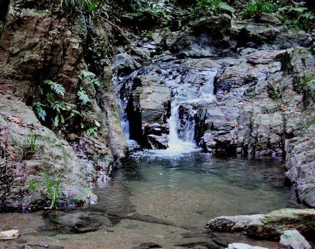 宿谷の滝の沢の流れ1