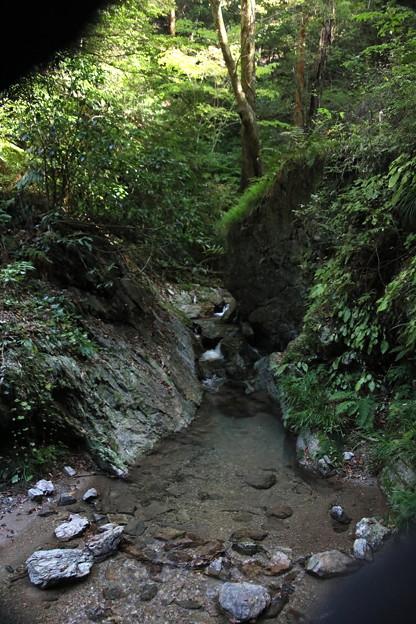 宿谷の滝の沢の流れ3