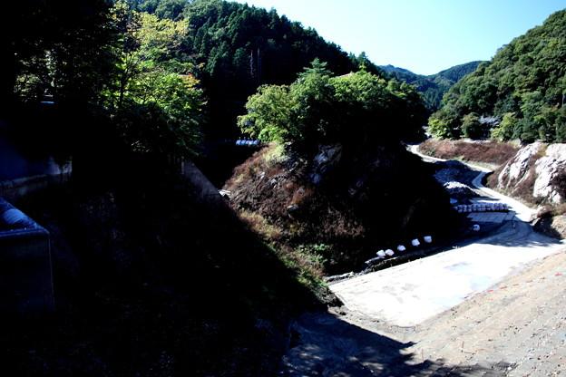 鎌北湖の湖底風景