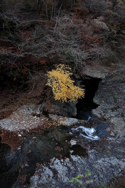 紅葉の甌穴群2