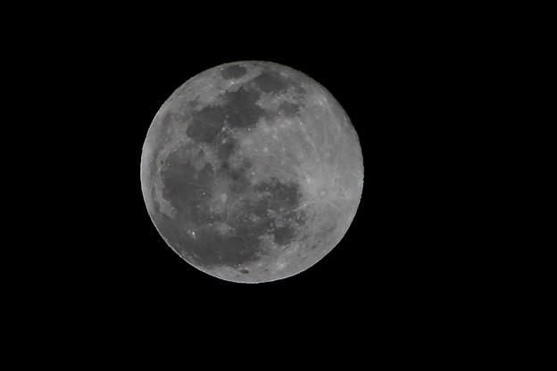 2020年最後の満月(12月30日)コールドムーン