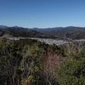多峰主山の山頂よりの景色