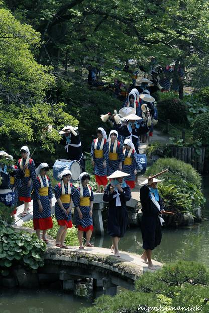 田植え祭り in 縮景園