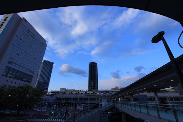 写真: 連絡橋
