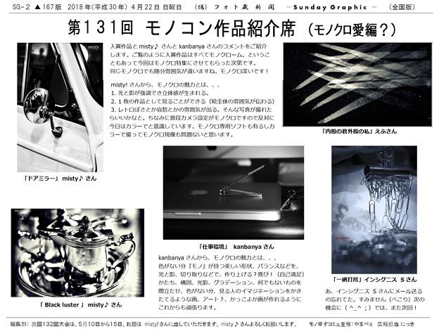 第131回モノコン作品紹介席(2/2)
