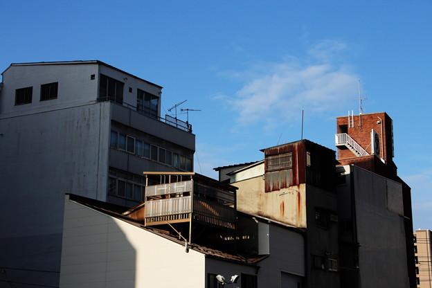 屋上建造物群
