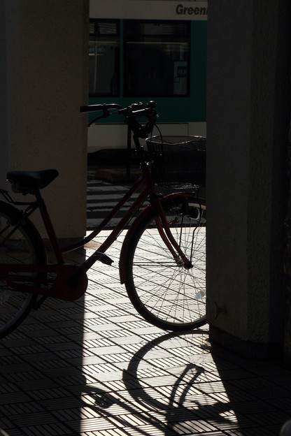 電車と自転車