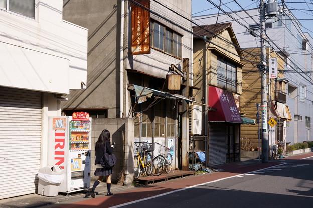 武蔵小山 通学路