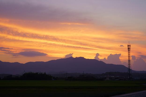Photos: 遠き山に日は落ちて