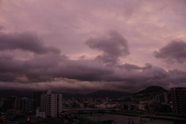 台風通過1