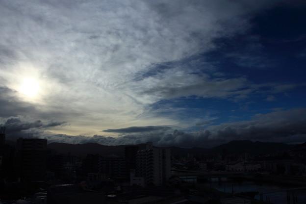 台風通過2