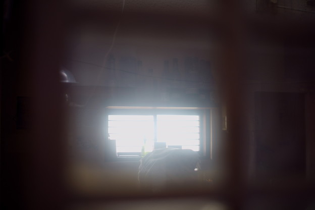 線路が見える窓